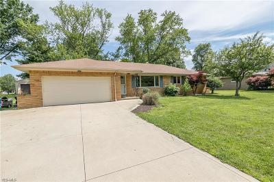 Broadview Heights Single Family Home For Sale: 1901 Oakes Road