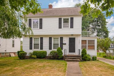 Cleveland OH Single Family Home Active Under Contract: $165,000
