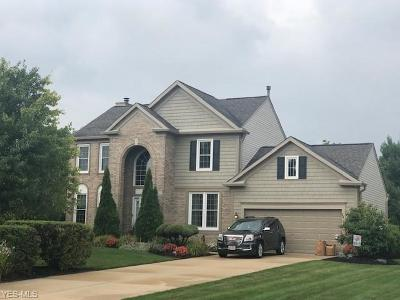 Sagamore Hills Single Family Home Active Under Contract: 559 Alliance Drive