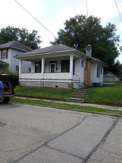 Zanesville OH Single Family Home For Sale: $37,000