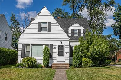 South Euclid Single Family Home For Sale: 2112 Miramar