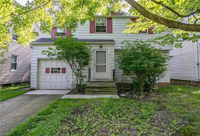 South Euclid Single Family Home For Sale: 677 Quilliams Road