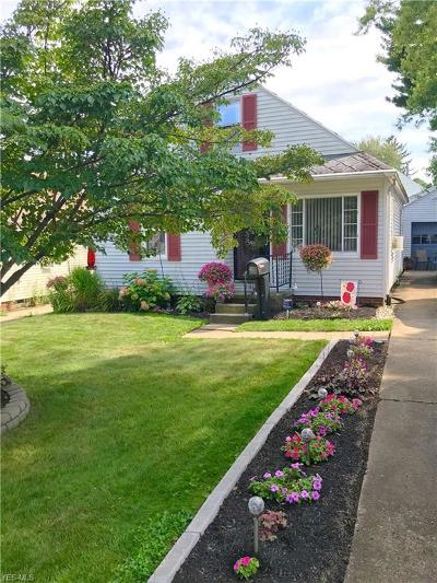 Canton Single Family Home For Sale: 1606 27th Street