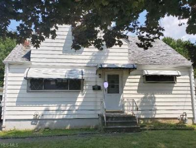 Single Family Home For Sale: 6521 Grosse Drive