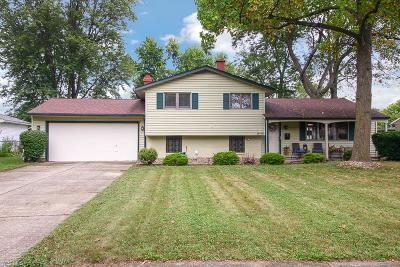 Single Family Home Active Under Contract: 28410 Elder Drive