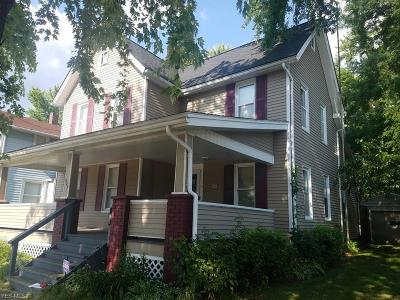 Warren Single Family Home For Sale: 349 Logan Avenue