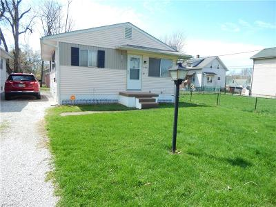 Canton Single Family Home For Sale: 2412 22nd Street