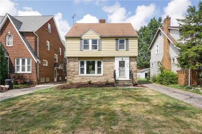 University Heights Single Family Home Active Under Contract: 2252 Cranston Road