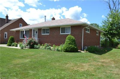 Cleveland OH Single Family Home Active Under Contract: $157,500