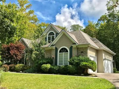 Chagrin Falls Single Family Home For Sale: 16745 Victoria Drive