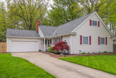 North Olmsted Single Family Home For Sale: 29575 Dorchester
