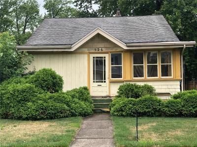 Warren Single Family Home For Sale: 526 Belvedere