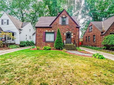 Cleveland OH Single Family Home For Sale: $165,000
