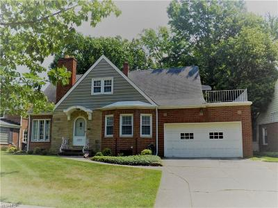 Cleveland Single Family Home For Sale: 10491 Halcyon Drive