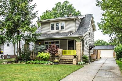 Cleveland Single Family Home For Sale: 3882 W 160th Street