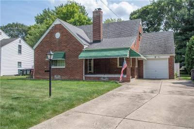 Boardman Single Family Home For Sale: 465 Orlo Lane