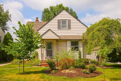 Single Family Home For Sale: 4822 Grace Road