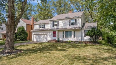 South Euclid Single Family Home Active Under Contract: 4509 Birchwold Road