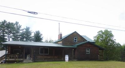 Lore City OH Single Family Home For Sale: $129,900