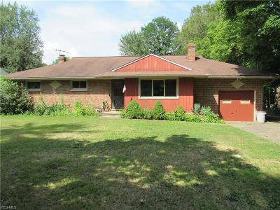 Single Family Home For Sale: 4632 Dover Center Road