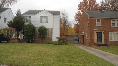 Cleveland Single Family Home For Sale: 16612 Biltmore Avenue