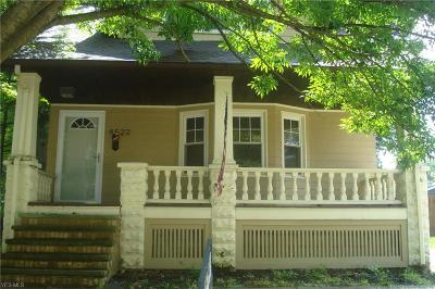 South Euclid Single Family Home For Sale: 4522 Liberty Road