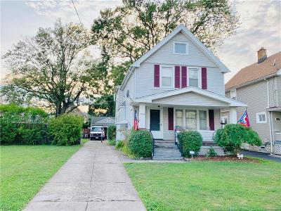 Cleveland Single Family Home For Sale: 3452 W 88th Street