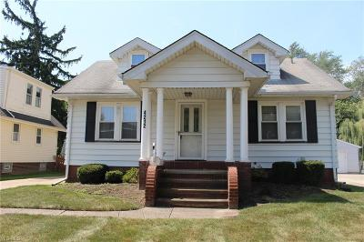 Fairview Park Single Family Home Active Under Contract: 4212 W 223rd Street