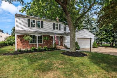 Lyndhurst Single Family Home For Sale: 990 Roland Road