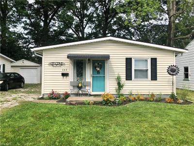 Elyria Single Family Home For Sale: 165 Boston Avenue