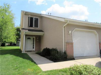 Northfield Condo/Townhouse For Sale: 7709 Brandywine Creek Drive