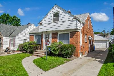 Cleveland Single Family Home For Sale: 16413 Walden Avenue