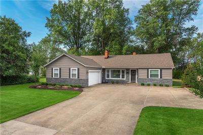 Beachwood Single Family Home For Sale: 24420 Bryden Road