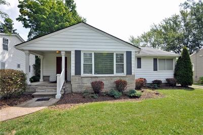 Elyria Single Family Home For Sale: 1013 Gulf Road