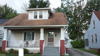 Fairview Park Single Family Home For Sale: 4100 Elmore Road