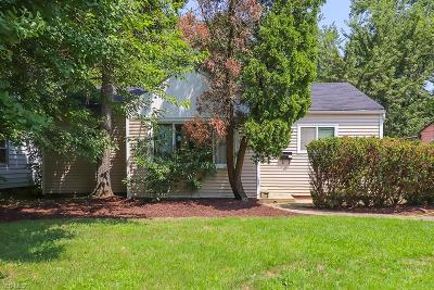 Cleveland Single Family Home For Sale: 2007 N Green Road