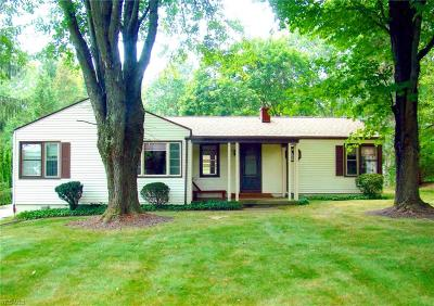 Single Family Home For Sale: 14810 Country Club Lane