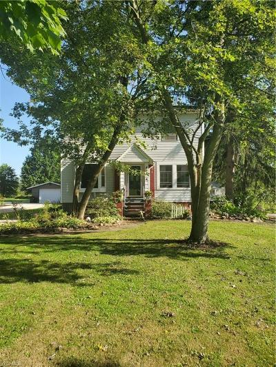 Single Family Home For Sale: 4747 Tallmadge Road