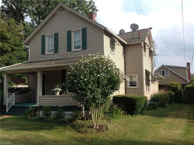 Single Family Home For Sale: 18043 Derr Avenue