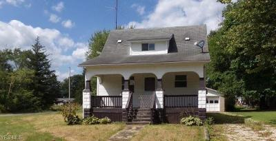 Single Family Home For Sale: 258 Federal Street