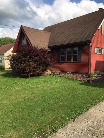 Struthers Single Family Home For Sale: 480 Maplewood