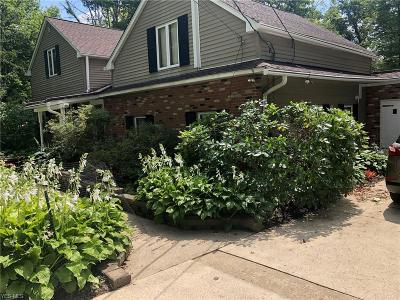 Chagrin Falls Single Family Home For Sale: 7619 Bainbridge Road