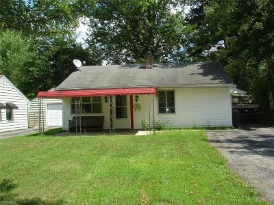 Youngstown Single Family Home For Sale: 7475 Glenwood Avenue