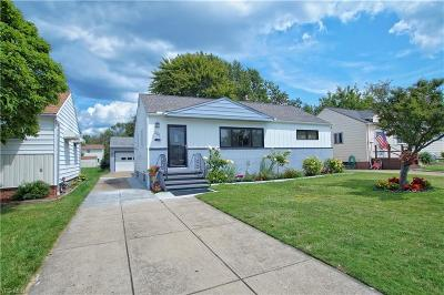 Willowick Single Family Home For Sale: 281 E 305th Street
