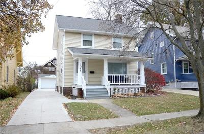 Lakewood Single Family Home For Sale: 1589 Winton Avenue
