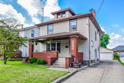 Massillon Single Family Home Active Under Contract: 1326 Lincoln Way