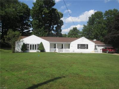 Youngstown Single Family Home For Sale: 2842 Decamp Road