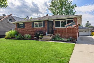 Single Family Home Active Under Contract: 5714 Pemberton Drive