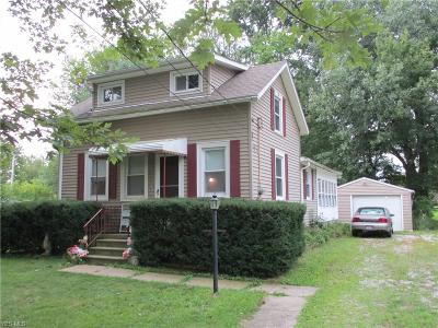 Elyria Single Family Home For Sale: 43727 Stang Road