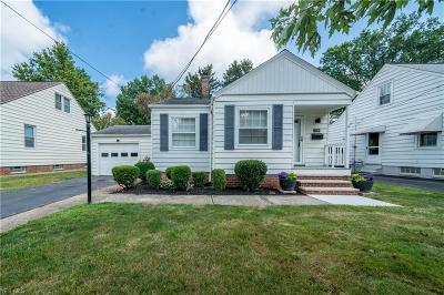 Single Family Home For Sale: 23364 Clifford Road